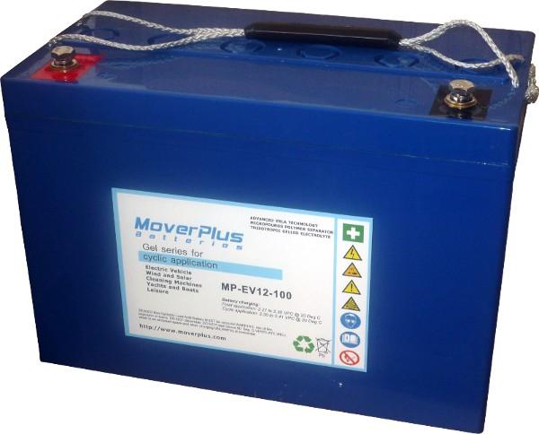 Wszystkie nowe Akumulator żelowy MoverPlus MP-EV 12V 100Ah DN25
